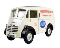 "Pocketbond ""Classix"" EM76605 Austin 101 J van in ""Home Dairies Limited"" white livery"