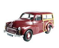 "Pocketbond ""Classix"" EM76824 Morris Minor Traveller in maroon"
