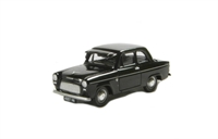 "Pocketbond ""Classix"" EM76862 Ford Popular 100E De Luze 2-door saloon in black with sun visor"