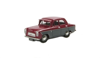 "Pocketbond ""Classix"" EM76864 Ford Prefect 107E 4-door saloon in maroon & grey with sun visor and GB plate"
