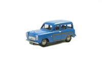 "Pocketbond ""Classix"" EM76871 Ford Squire 100E Estate in blue with wood trim"