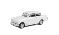 "Pocketbond ""Classix"" EM76876 Triumph Herald 13/60 saloon in white with opening bonnet"