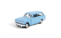 "Pocketbond ""Classix"" EM76884 Triumph Herald 13/60 estate in mid blue with opening bonnet"