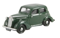 "Pocketbond ""Classix"" EM76889 Vauxhall 1937 H-type Ten-Four in nightshade green."
