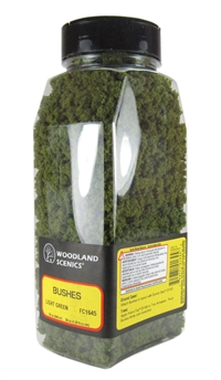 Woodland Scenics FC1645 Bushes - Light Green