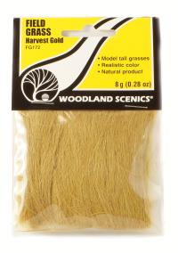 Woodland Scenics FG172 Field Grass - Harvest Gold