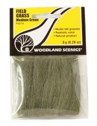 Woodland Scenics FG174 Field Grass - Medium Green