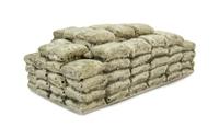 Harburn Hamlet FL122 Layered Cement Bags, brown