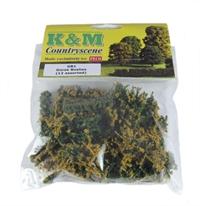 K&M Countryscene GB1 Gorse Bushes x 12 (assorted sizes)