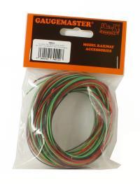 Gaugemaster Controls GM10 30m Wire (10m red/10m black/10m green)