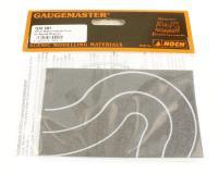 Gaugemaster Controls GM391 Tarmac road curves 40mm wide x 2