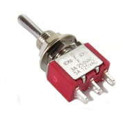 Gaugemaster Controls GM510 A5H Single Pole Double Throw Momentary Contact Mini-toggle for Point Motors