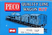 Peco Products KNR-167 10ft Tank wagon kit