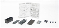 Peco Products KNR-20 Conflat with container wagon kit