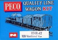 Peco Products KNR-42 Refrigerator-type Box Van kit