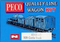 Peco Products KNR-45 Cattle truck kit