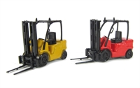 Base Toys L14 2 forklift trucks - 1 red, 1 yellow