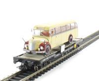 Liliput L235783 Flat Wagon OBB With Omnibus Graef+Stift Vers.3 . Era 4