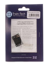 Train Tech LFX4 Lighting effect - Log or camp fire