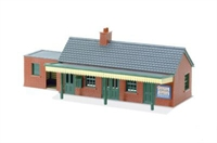 Peco Products LK-12 Country Station Building Brick Type