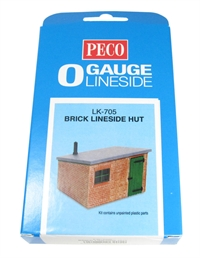 Peco Products LK-705 Lineside hut in brick