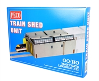 Peco Products LK-80 Train Shed Unit
