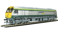 Murphy Models MM0222 Irish Class 201 diesel 22 in Intercity green and silver livery.