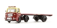 Base Toys N020 Albion Clydesdale artic flatbed 'British Railways' (circa 1955 - 1965)