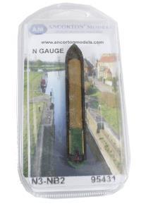 Ancorton Models N3-NB2 Industrial Narrow Boat with tarpaulin