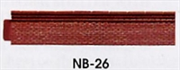 Peco Products NB-26 Platform Edging (Brick)