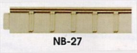 Peco Products NB-27 Platform Edging (Concrete)