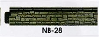 Peco Products NB-28 Platform Edging (Stone)