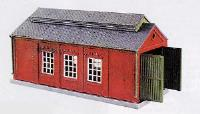 Peco Products NB-5 Engine Shed, Brick Built Type Kit