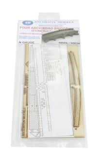 Ancorton Models NBR6 Road bridge 4 arched kit