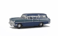 Oxford Diecast NCFE002 Vauxhall PA Cresta Friary Estate in Moonlight blue/Bermuda blue