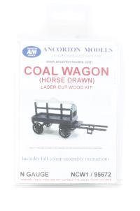 Ancorton Models NCW1 Horse-drawn coal wagon kit