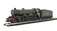 Dapol ND079e Class B17 4-6-0 61655 'Middlesbrough' in BR green with late crest (not early as listed elsewhere)