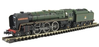 """Dapol ND095b Britannia Pacific 4-6-2 70013 """"Oliver Cromwell"""" in British Railways Green with early crest"""