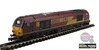 Dapol ND101f Class 67 diesel 67024 EWS