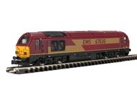 Dapol ND101j Class 67 Diesel 67030 EWS livery