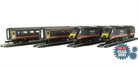 Dapol ND122e Class 43 HST Book Set in Grand Central Livery (new livery version with one dummy power car)