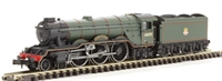 "Dapol ND129ED Class A3 steam locomotive 60070 ""Gladiateur"" in BR lined green with early crest. DCC fitted"
