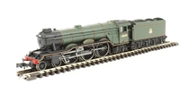 "Dapol ND129E Class A3 steam locomotive 60070 ""Gladiateur"" in BR lined green with early crest"