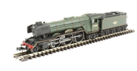 "Dapol ND129F Class A3 steam locomotive 60106 ""Flying Fox"" in BR lined green with late crest"