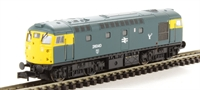 Dapol ND145G Class 26 diesel 26040 in BR blue with discs, snowploughs & stag emblem