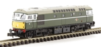 Dapol ND145J Class 26 diesel locomotive D5326 in BR green livery (not blue as previously announced)