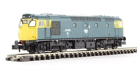 Dapol ND205C Class 27 diesel 27008 in BR blue with plated gangway doors