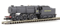 Dapol ND207DD Class Q1 0-6-0 C7 in SR black livery. DCC fitted