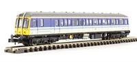 "Dapol ND209B Class 122 Gloucester RCW ""Bubblecar"" single car DMU 55000 (122100) in Regional Railways livery"