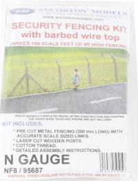 Ancorton Models NF8 Security fencing with barbed wire kit 9ft high (150ft long)